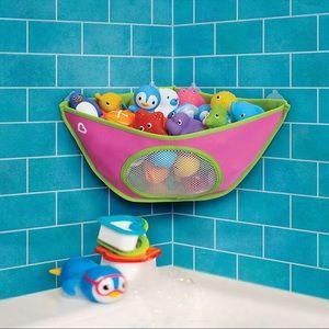 Munchkin Corner Bath Toy Organizer - Pink